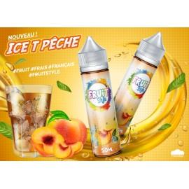 E LIQUIDE ICE T PÊCHE 50ml/0mg + Nico10