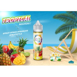 E LIQUIDE TROPICAL 50ml/0mg + Nico10