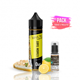 PACK LEMON TART 50ml/0mg + Nico10