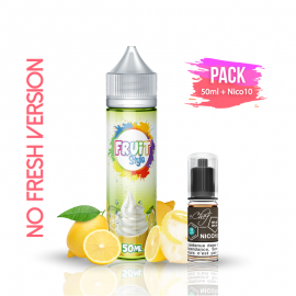 PACK CRÉPONNÉ NO FRESH 50ml/0mg + Nico10