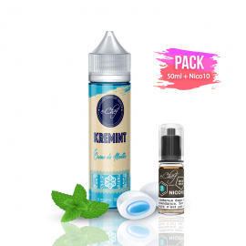 PACK KREMINT 50ml/0mg + Nico10