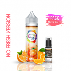 PACK ORANGE NO FRESH 50ml/0mg + Nico10