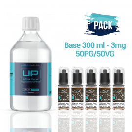 Base Ultra Pure 300 ml 50PG/50VG - 3mg